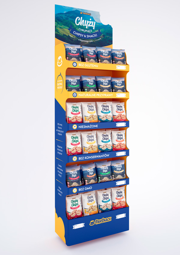 PanSnack display