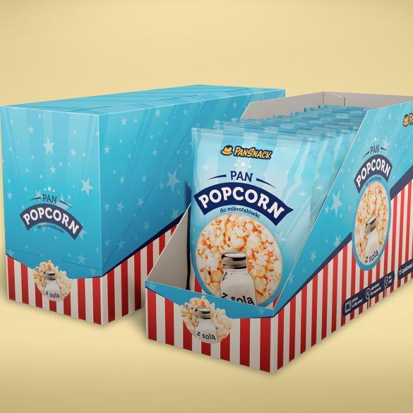 PanSnack – opakowania popcorn